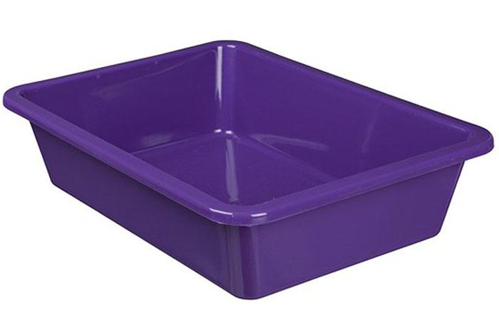 Удобный цельный лоток пластиковый