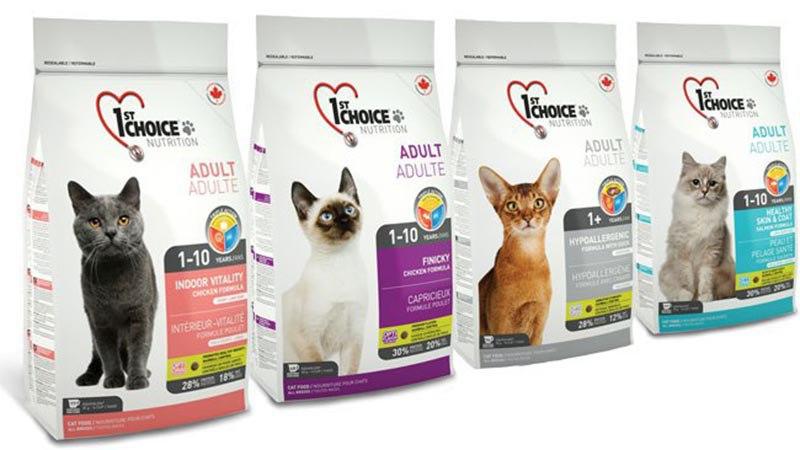 Гипоаллергенные корма для кошек